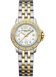 Raymond Weil Women's Tango Mother Of Pearl Dial Diamond Two Tone Watch 5399-SPS-00995