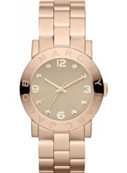 Marc by Marc Jacobs Women's Amy Rose Gold Tone Watch MBM3221