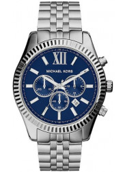 Michael Kors Men's Lexington Chronograph Navy Dial Watch MK8280
