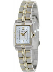 Seiko Women's Silver Dial Stainless Steel Watch SXGN46