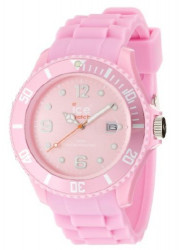 Ice Watch Unisex  Pink Dial Pink Silicone Watch SI.PK.B.S.09