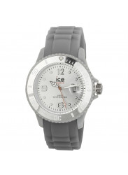 Ice Watch Unisex Grey Dial Grey Silicone Watch SI.SR.U.S.09