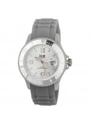 Ice Watch Unisex Grey Dial Grey Silicone Watch SI.SR.U.S.09