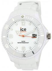 Ice-Watch SIWEBBS11 Men's Sili White Resin Quartz Watch with White Dial
