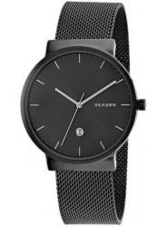 Skagen Men's Ancher Grey Dial Grey Stainless Steel Watch SKW6432