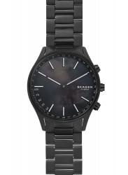 Skagen Men's Connected Black Mother of Pearl Dial Black Titanium Smartwatch SKT1312