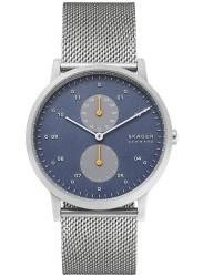 Skagen Men's Kristoffer Multifunction Blue Dial Stainless Steel Watch SKW6525