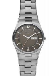 Skagen Men's Melbye Grey Dial Grey Stainless Steel Watch SKW6504
