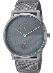 Skagen Men's Kristoffer Multifunction Grey Dial Grey Stainless Steel Watch SKW6501