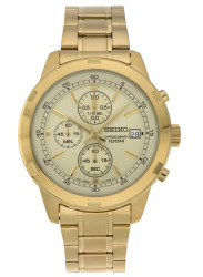 Seiko Men's SKS426 Gold Stainless Steel Quartz Watch