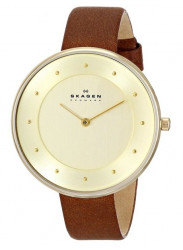 Skagen Women's Gitte Gold-Tone Stainless Steel Watch SKW2138