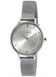 Skagen Women's Anita Stainless Steel Watch with Mesh Braceleta