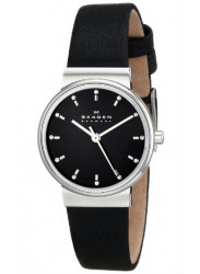 Skagen Women's Ancher Leather Quartz Watch