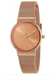 Skagen Women's Ancher Rose Gold Mesh Watch SKW2197