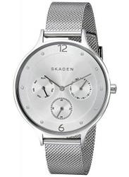 Skagen Women's Anita Silver Dial Mesh Watch SKW2312