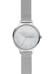 Skagen Women's Anita Mother of Pearl Dial Stainless Steel Watch SKW2701