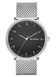 Skagen SKW6175 Hald Black Dial Black PVD Stainless Steel Mens Watch