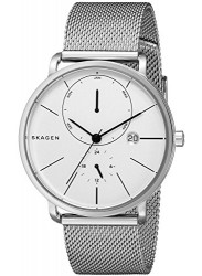 Skagen Men's Hagen Silver Mesh Watch SKW6240