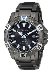 Seiko Men's Analog Display Japanese Quartz Black Watch SNE281