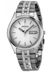 Seiko Men's Silver Dial Stainless Steel Watch SGGA51