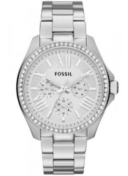 Fossil Women's Cecile Silver Dial Stainless Steel Watch AM4481