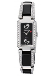 Seiko Women's Tressia Black Dial Crystals Watch SUP187