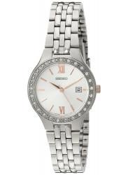 Seiko Women's Silver Tone Stainless Steel Watch SUR759