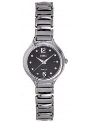 Seiko Women's Solar Black Dial Watch SUT177