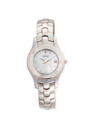 Seiko Women's Mother of Pearl Dial Stainless Steel Watch SXDB76
