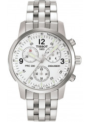 Tissot Sport Chronograph Men's Stainless Steel Watch PRC200