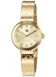 Tommy Hilfiger Women's Gold Tone Stainless Steel Bangle Watch 1781720