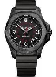 Victorinox Men's INOX Carbon Black Dial Black Rubber Watch 241777
