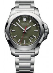 Victorinox Men's Green Dial Stainless Steel Bracelet Watch 241725.1