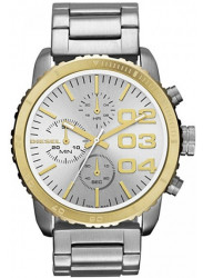 Diesel Women's Chronograph Silver Dial Two Tone Watch DZ5321