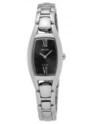 Seiko Women's Solar Black Dial Watch SUP317