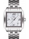 Tissot Men's Quadrato Mother of Pearl Dial Watch T005.510.11.117.00