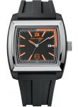 Hugo Boss Orange Men's Black Dial Rubber Watch 1512601
