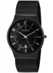 Skagen Men's Black Dial Titanium Stainless Steel Mesh Watch 233XLTMB