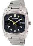 Diesel Men's Black Dial Silver Tone Watch DZ1556