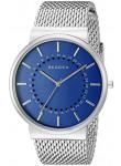 Skagen Men's Ancher Blue Dial Mesh Bracelet Watch SKW6234