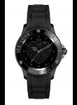 Ice Watch Unisex Ice Love Black Dial Black Silicone Watch LO.BK.U.S.10