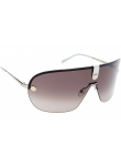Carrera Unisex Aviator Half-Rim Brown Light Gold Tone Sunglasses CARRERA 37 3YG/JD