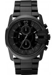 Diesel Men's Master Chief Chronograph Black Ion Plated Stainless Steel Watch DZ4180