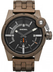 Diesel Men's Black Dial Brown PVD Stainless Steel Watch DZ4236