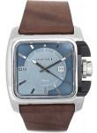 Diesel Men's Blue Dial Brown Leather Watch DZ1542