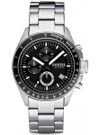 Fossil Men's Chronograph Black Dial Watch CH2600IE
