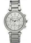 Michael Kors Women's Parker Silver Tone Watch MK5353