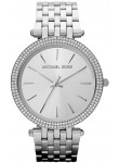Michael Kors Women's Darci Silver Tone Crystals Watch MK3190