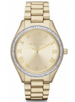 Michael Kors Women's Blake Champagne Dial Gold-Tone Watch MK3244
