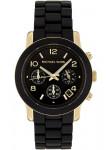 Michael Kors Women's Runway Black Dial Watch MK5191